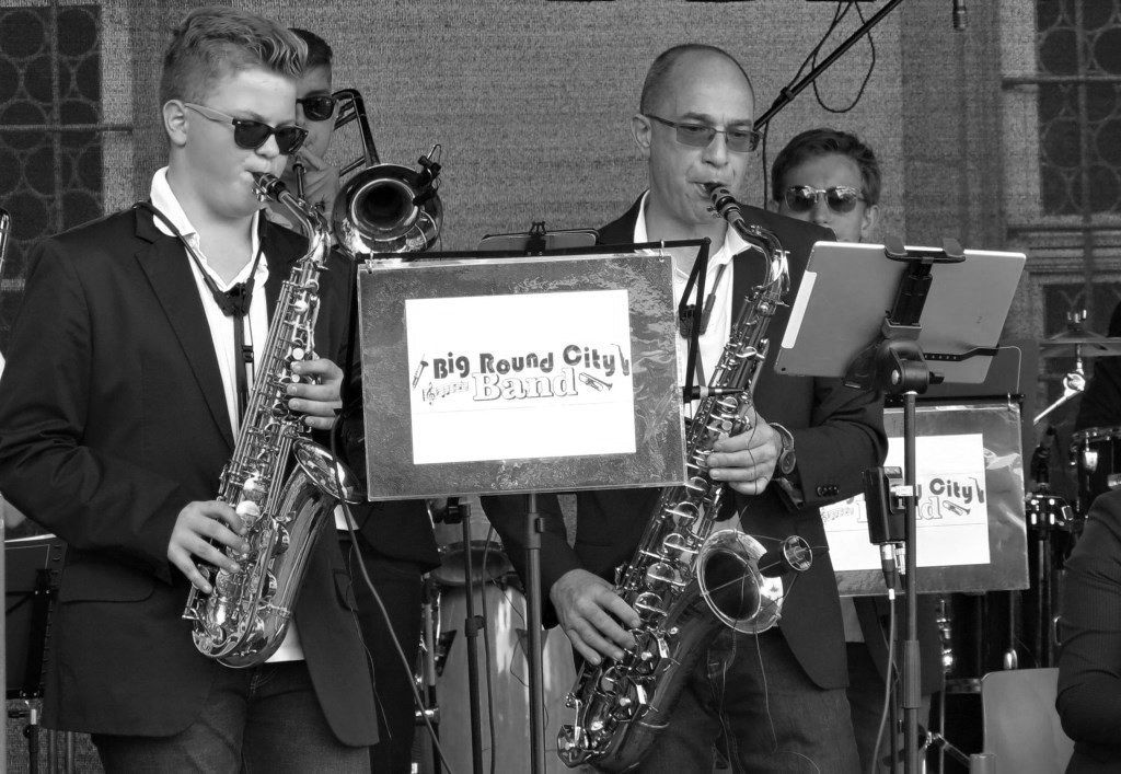 Sax Gruppe Big Round City Band