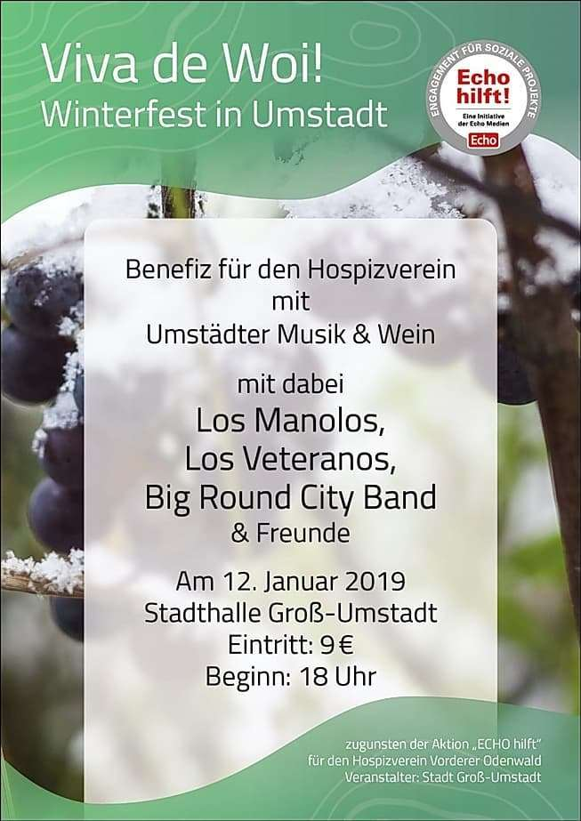 Big Round City Band bei Echo Hilft 2019 Viva de Woi