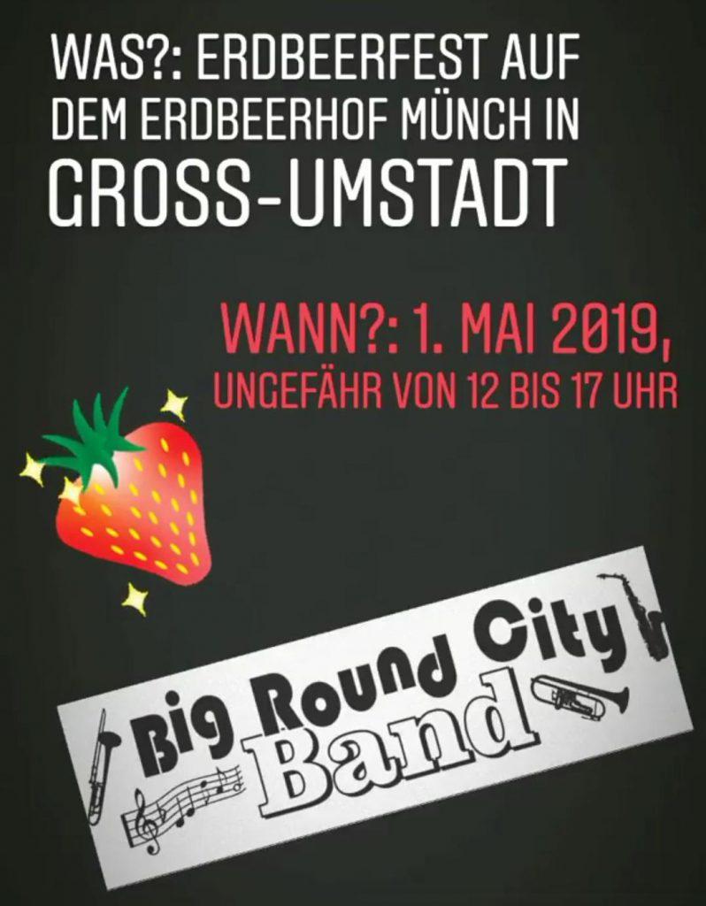 Saisonauftakt 2019 – 1. Mai traditionell auf dem Erdbeerhof Münch Groß Umstadt