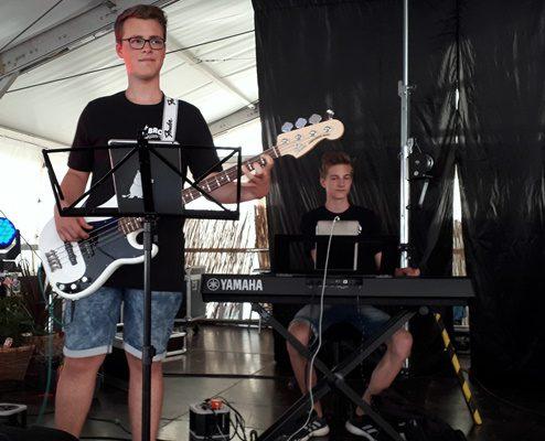 Trotz Hitze der Bass bleibt COOL