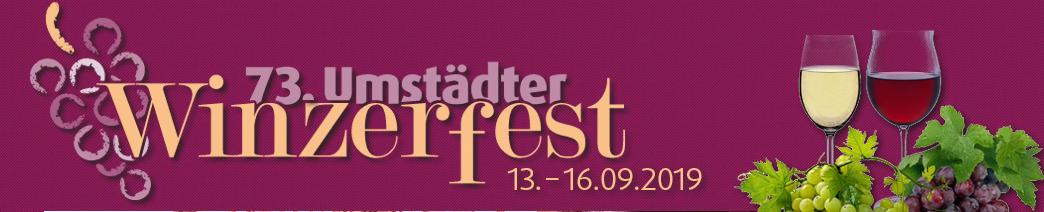 Winzerfest 2019 Groß Umstadt Banner
