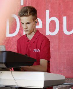Keybord hochkonzentriert